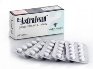 Clenbuterol HCL Astralean 40mcg